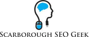 scarborough seo geek business logo