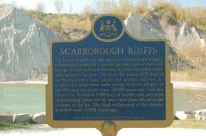 Scarborough Bluffs Plaque